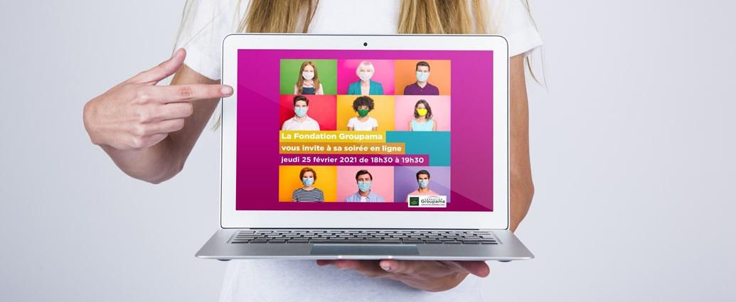 Soirée annuelle Groupama 100% en ligne